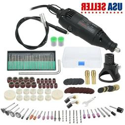 200Pc Variable Rotary Speed Tool Power Electric Corded 130w