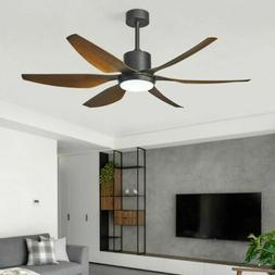 """56""""Modern LED Ceiling Fan Light  Dimmable 3Color Changing Ch"""