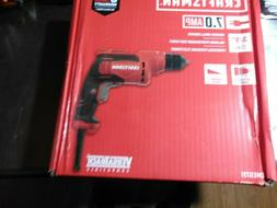 CRAFTSMAN 7 Amp 3/8-in Keyless Corded Drill - CMED731