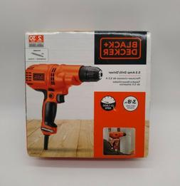 """Black & Decker Power Tools DR260C 3/8"""" 5.2 Amp Corded Drill/"""