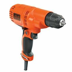 Blackdecker Corded Drill, 5.2-Amp, 3/8-Inch