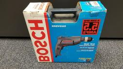 Bosch Corded 3/8 Inch Drill Driver Kit Variable Speed Revers