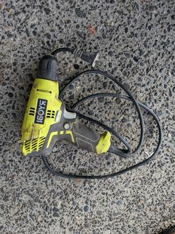 """Ryobi D43 5.5A Corded 3/8"""" Variable Speed VSR Compact Drill"""
