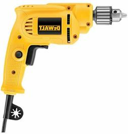 DEWALT  Corded Drill with Keyed Chuck, 7.0-Amp, 3/8-Inch / N