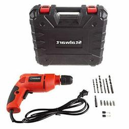 Stalwart Electric Power Drill with 6-Foot Cord - Variable Sp