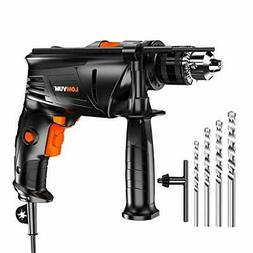 Hammer Drill 1/2 In. Corded HEAVY DUTY 6.75 Amp Speed Dual M