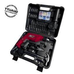 """Hammer Drill and 88 accessories 4.7AMP  550W 1/2"""" PROMAKER 3"""