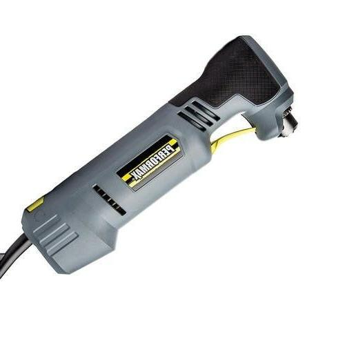 4 amp corded 3 8 right angle