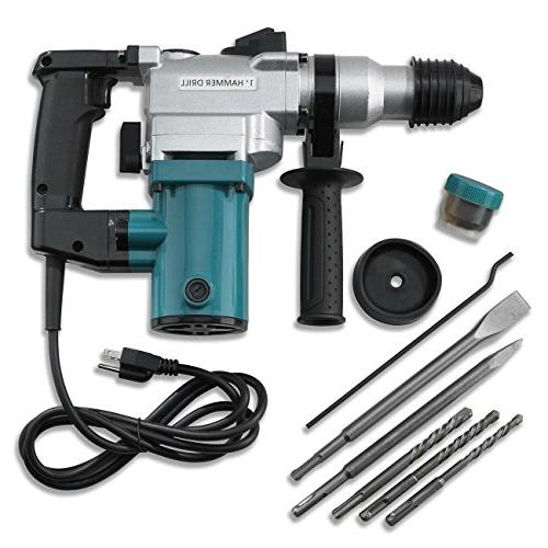 electric rotary roto hammer drill