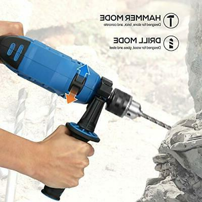 Impact Drill, LAXIA 7.5Amp Keyed Variable Speed