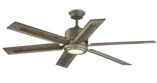Palermo Grove Integrated LED Indoor Antique Fan