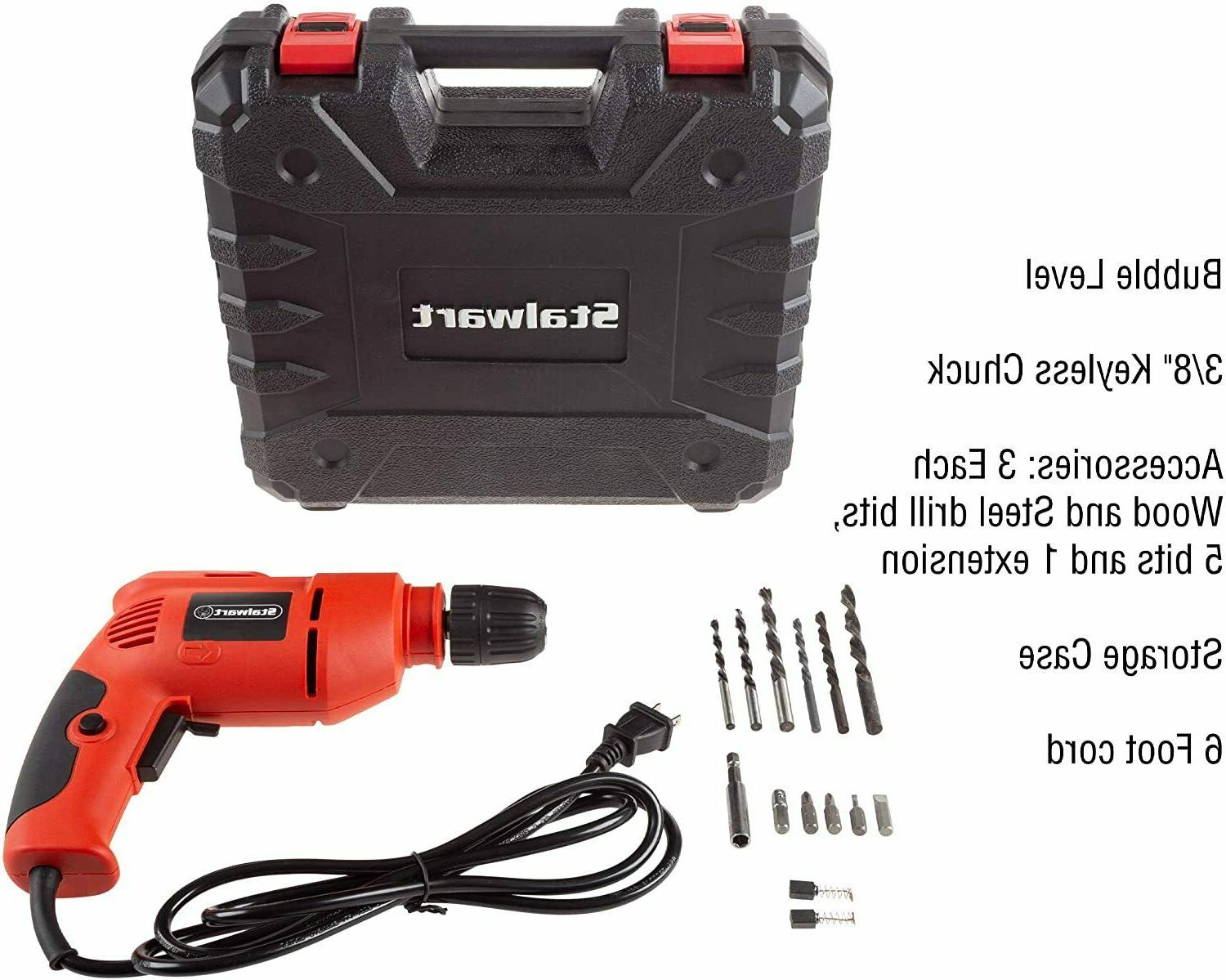 Stalwart Power Drill Variable