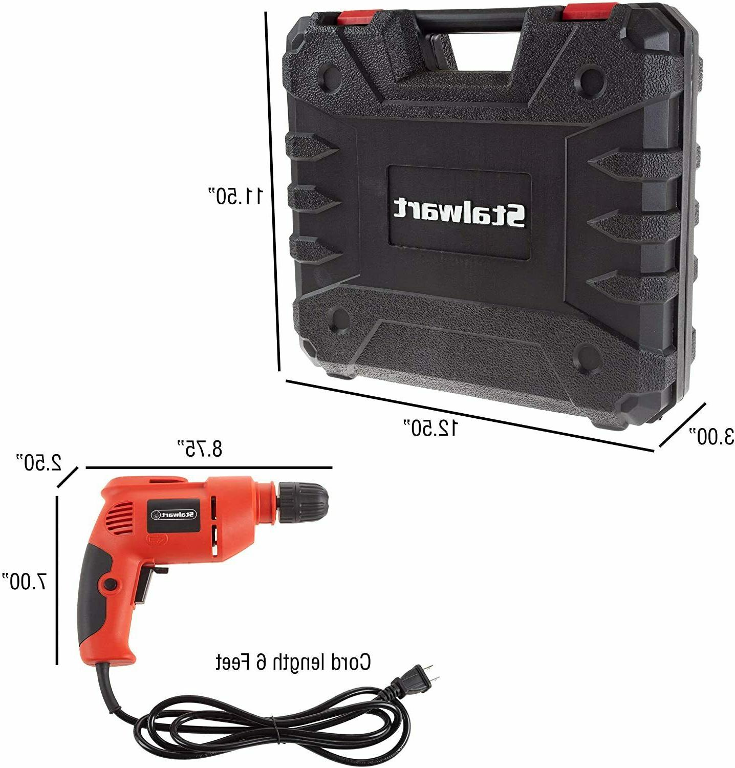 Stalwart with 6-Foot Cord Variable Speed