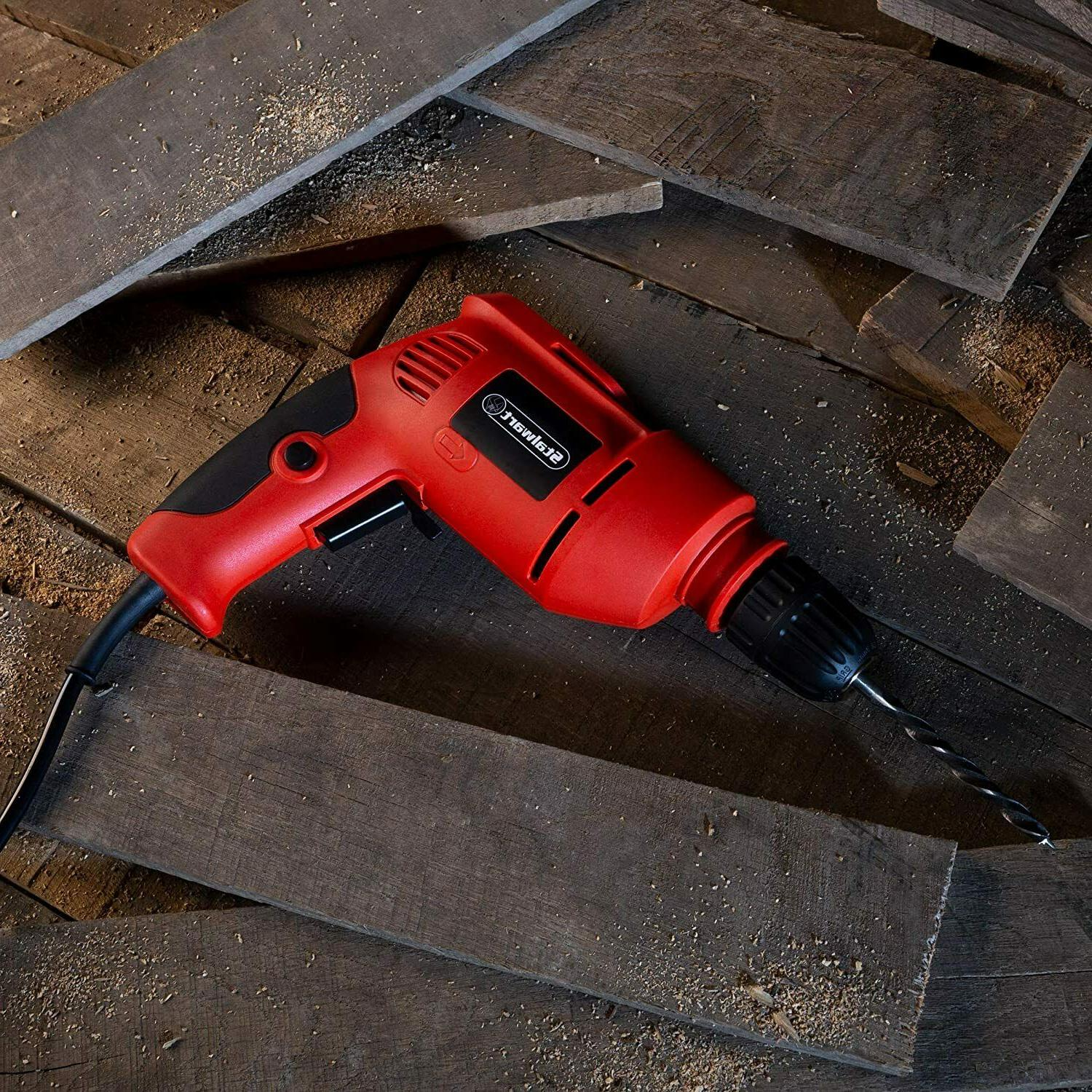 Stalwart Electric Drill with Cord Variable