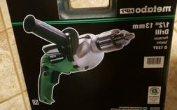 "Metabo HPT Hitachi 1/2"" 13mm 9 AMP Corded Power Drill D13VF"