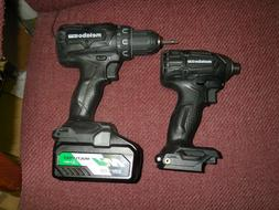 Metabo HPT 18-Volt Cordless Drill And Cordless Impact Driver