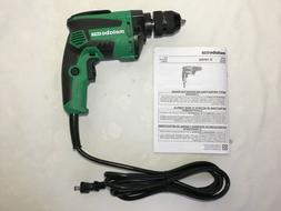 Metabo HPT D10VH2 7 Amp 3/8 Inch Corded Drill Metal Keyless