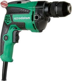 Metabo HPT Drill Corded 7-Amp 3/8-Inch Metal Keyless Chuck V