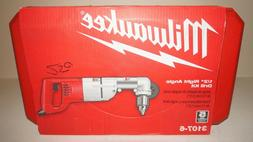 "New Milwaukee 7 Amp Corded 1/2"" Corded Right-Angle Drill Kit"