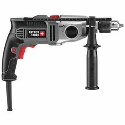 Porter-Cable PC70THD Corded Hammer Drill Kit, 120 V, 7 A, 1/