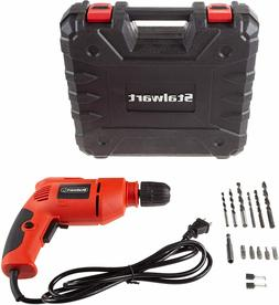 Stalwart Electric Power Drill with 6-Foot Cord – Variable