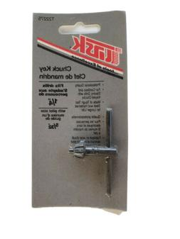 """Task Tools T22275 Drill Chuck Key With T Handle 1/4"""" With"""